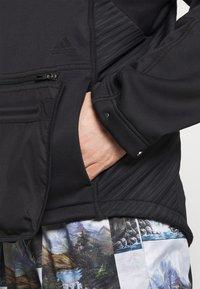 adidas Performance - ATHLETICS TECH  - Felpa con zip - black - 4