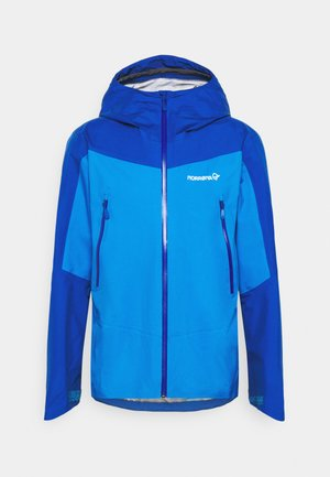 FALKETIND GORE TEX JACKET - Hardshell jacket - campanula/olympian blue