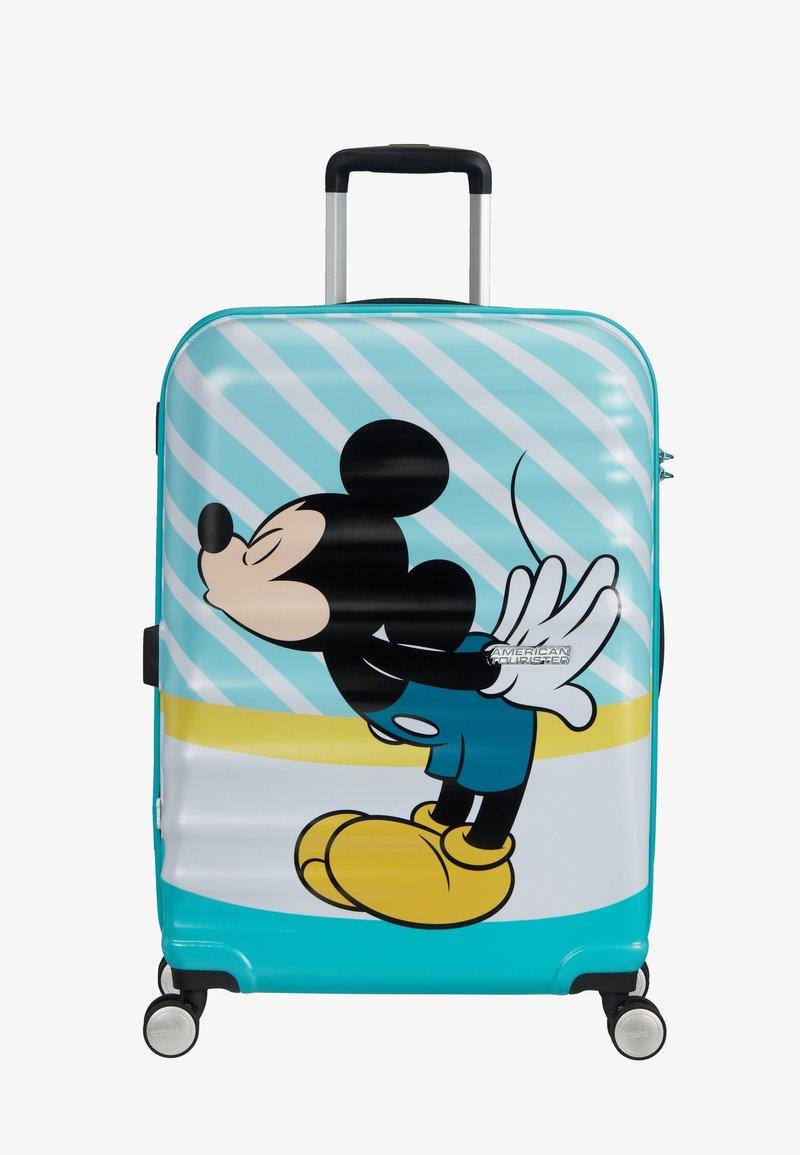American Tourister - WAVEBREAKER DISNEY - Wheeled suitcase - mickey blue kiss