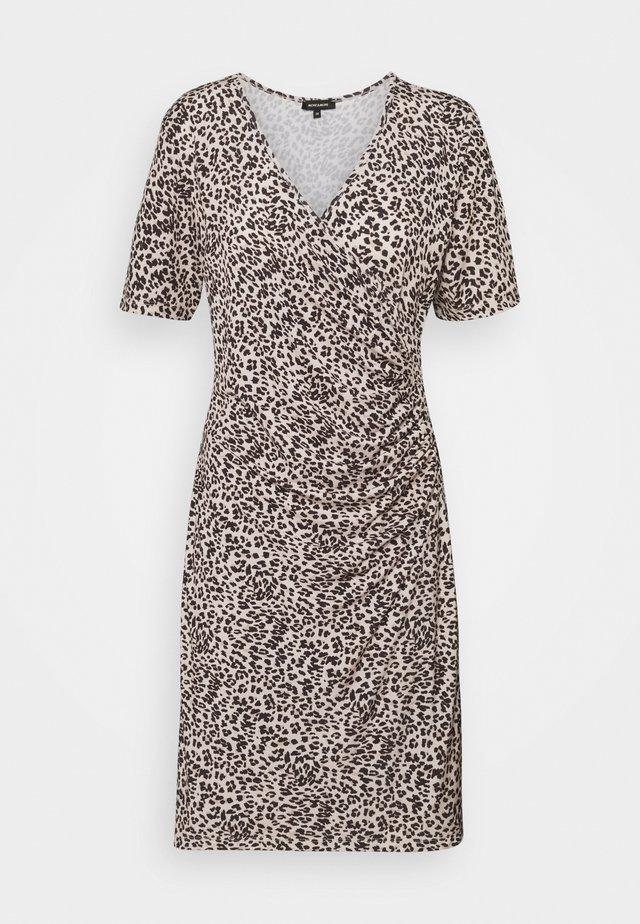 DRESS SHORT - Sukienka z dżerseju - black