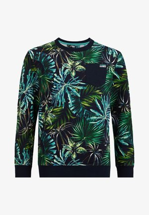 Sweater - blue/green
