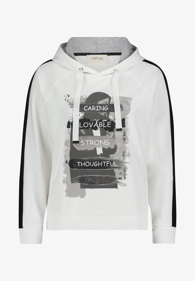 Cartoon - Hoodie - blanc/noir