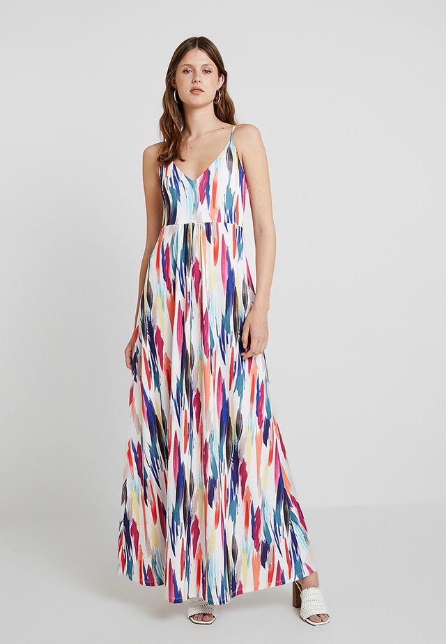 Maxi dress - off-white/blue