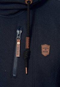 INDICODE JEANS - ELM - Zip-up hoodie - navy - 5