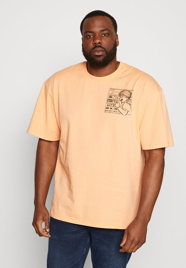 RAMEN - Camiseta estampada - cantaloupe
