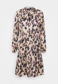 MELISSA SOPHISTICATED DRESS - Shirt dress - mottled brown