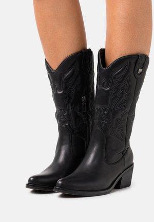TANUBIS - Cowboystøvler - black