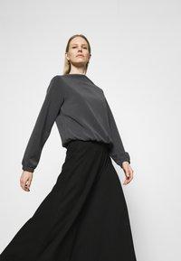 Opus - GABBI - Long sleeved top - black - 4