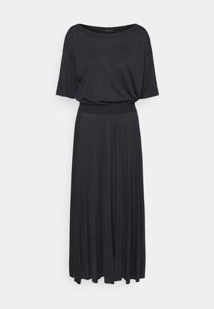 DRESS PLISSEE - Jersey dress - dark blue