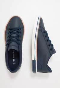 Lacoste - LEROND  - Trainers - navy/offwhite - 0