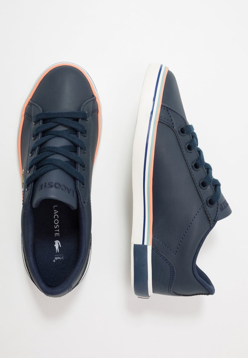 Lacoste - LEROND  - Trainers - navy/offwhite
