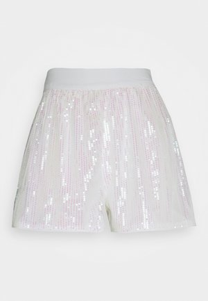 FESTIVAL EXCLUSIVE SEQUIN  - Shorts - white