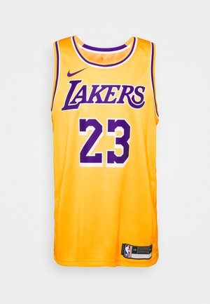 NBA LA LAKERS LEBRON JAMES SWINGMAN - Club wear - amarillo/field purple