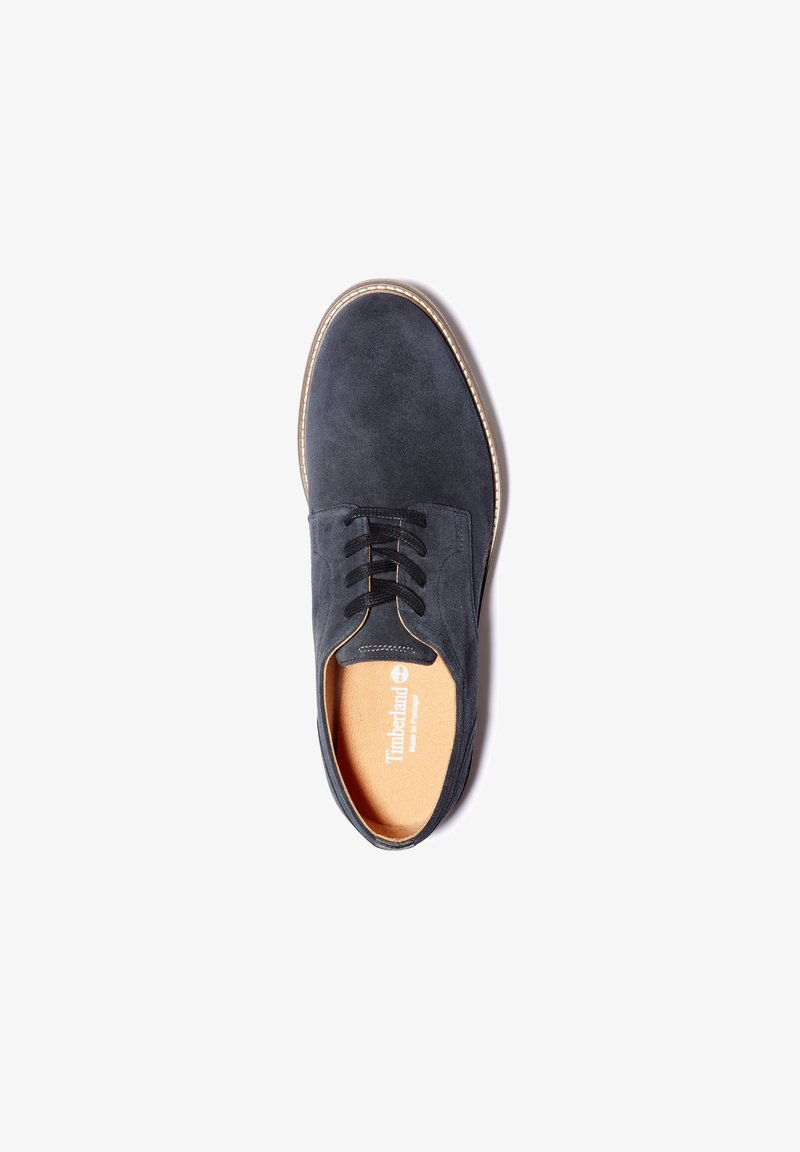 Timberland - OAKROCK LT OXFORD - Casual lace-ups - navy suede