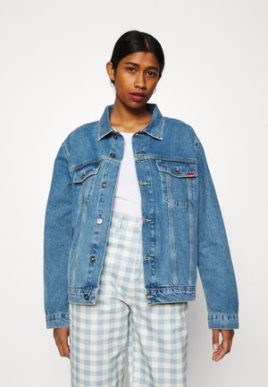 JACKET - Džínová bunda - mid blue