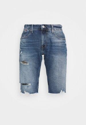 RONNIE - Denim shorts - denim medium