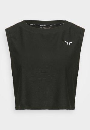 LIMITLESS CROP  - Top - black