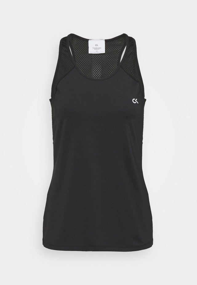 BACK TANK - Top - black