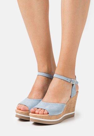 MARY - High heeled sandals - flint