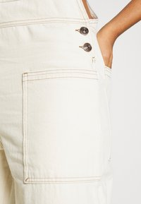 BDG Urban Outfitters - DUNGAREE - Dungarees - ecru - 4