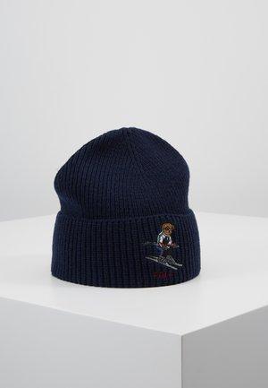 SKI BEAR - Bonnet - navy