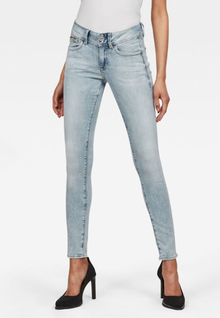 Damen LYNN ZIP-POCKET MID SKINNY - Jeans Skinny Fit