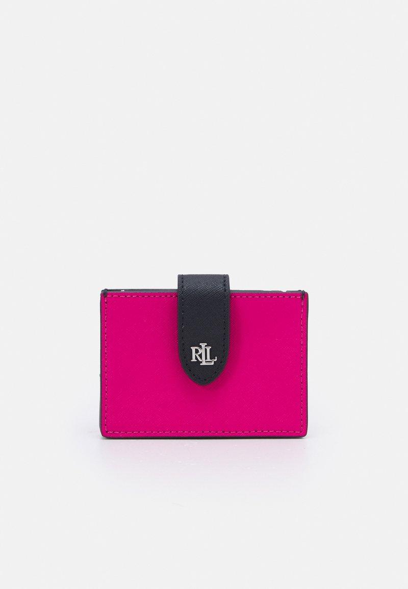 Lauren Ralph Lauren - CROSSHATCH CARD - Peněženka - nouveau bright pink