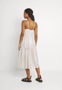 YAS - YASTRIMLA STRAP DRESS  - Korte jurk - tapioca - 2