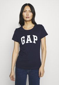 GAP - FRANCHISE TEE  2 PACK - T-shirt con stampa - navy uniform - 3