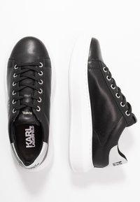 KARL LAGERFELD - KAPRI MAISON LACE - Sneakersy niskie - black/silver - 3