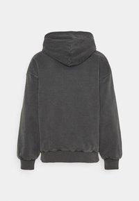 Carhartt WIP - HOODED VISTA JACKET - Zip-up sweatshirt - soot - 1