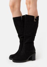 mtng - MAYA - Vysoká obuv - black - 0