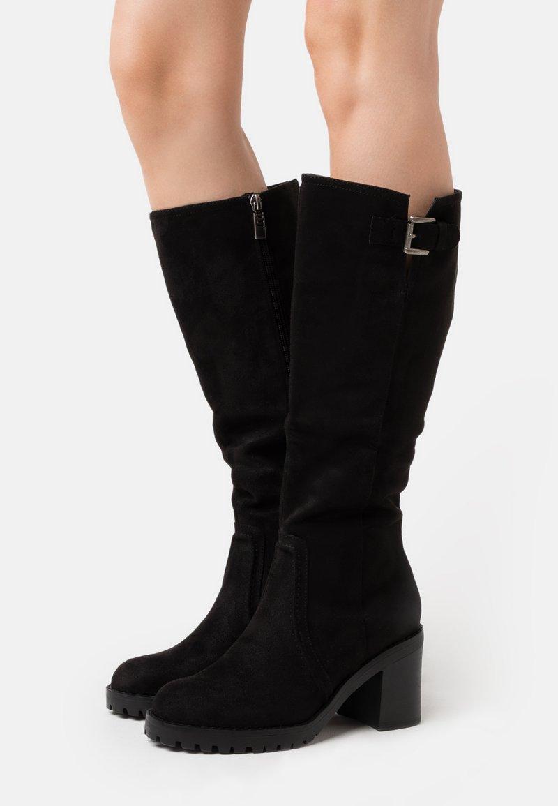 mtng - MAYA - Vysoká obuv - black