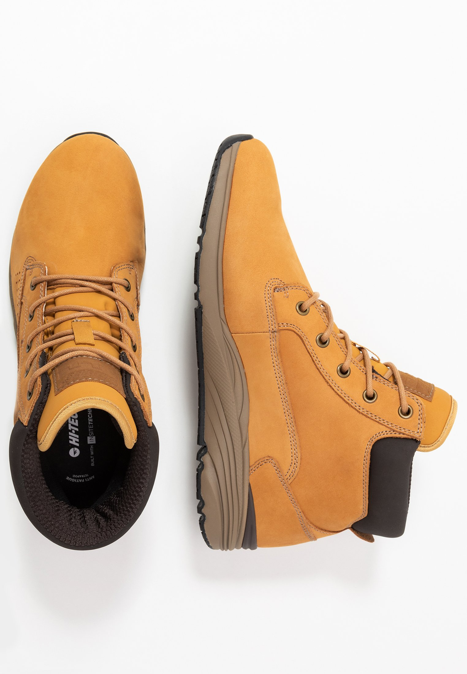 Hi-tec X-hail Mid Lux Wp - Hikingsko Wheat/white