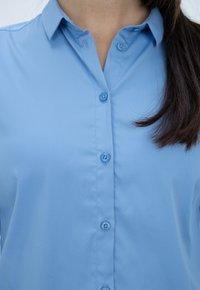 Mos Mosh - Button-down blouse - bel air blue - 4