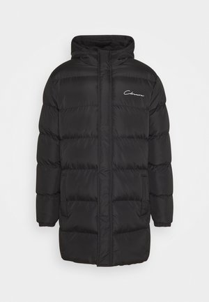 LONG PUFFER - Veste d'hiver - black shine
