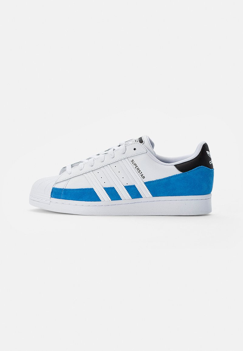 adidas Originals - SUPERSTAR - Tenisky - bright blue/white/core black