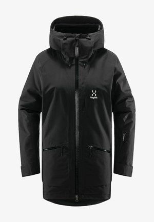 LUMI INSULATED PARKA - Snowboard jacket - true black