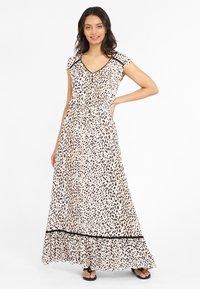 LASCANA - Maxi dress - sand bedruckt - 1