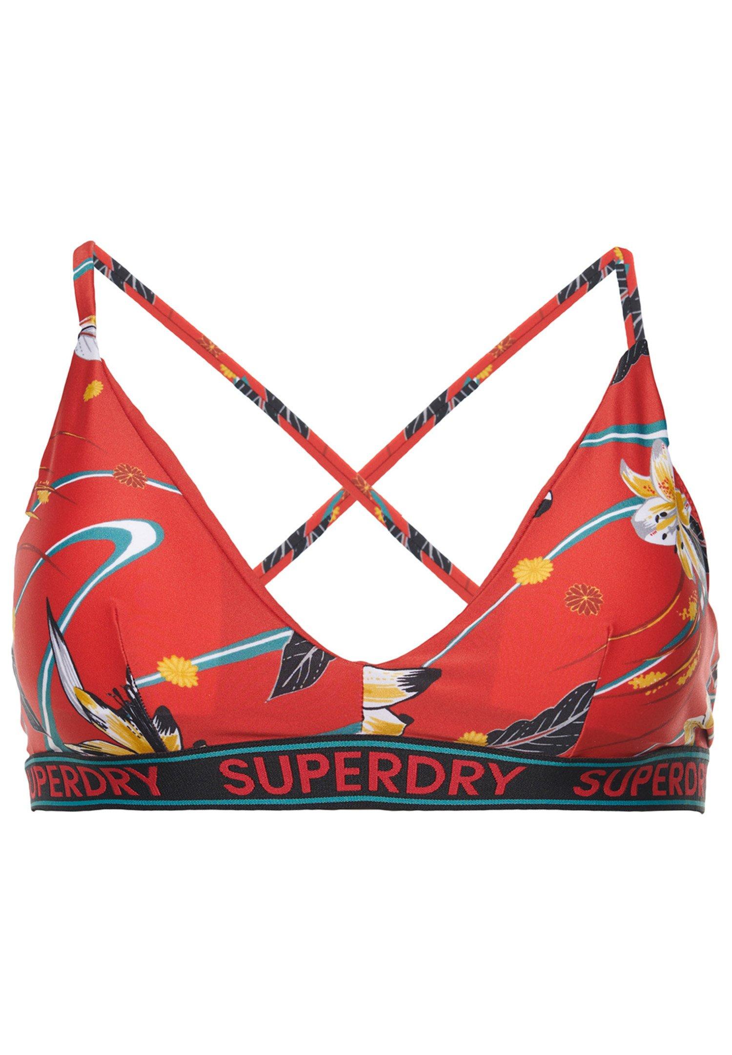 Women LOGO SURF - Bikini top