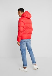Tommy Jeans - ESSENTIAL JACKET - Down jacket - racing red - 2