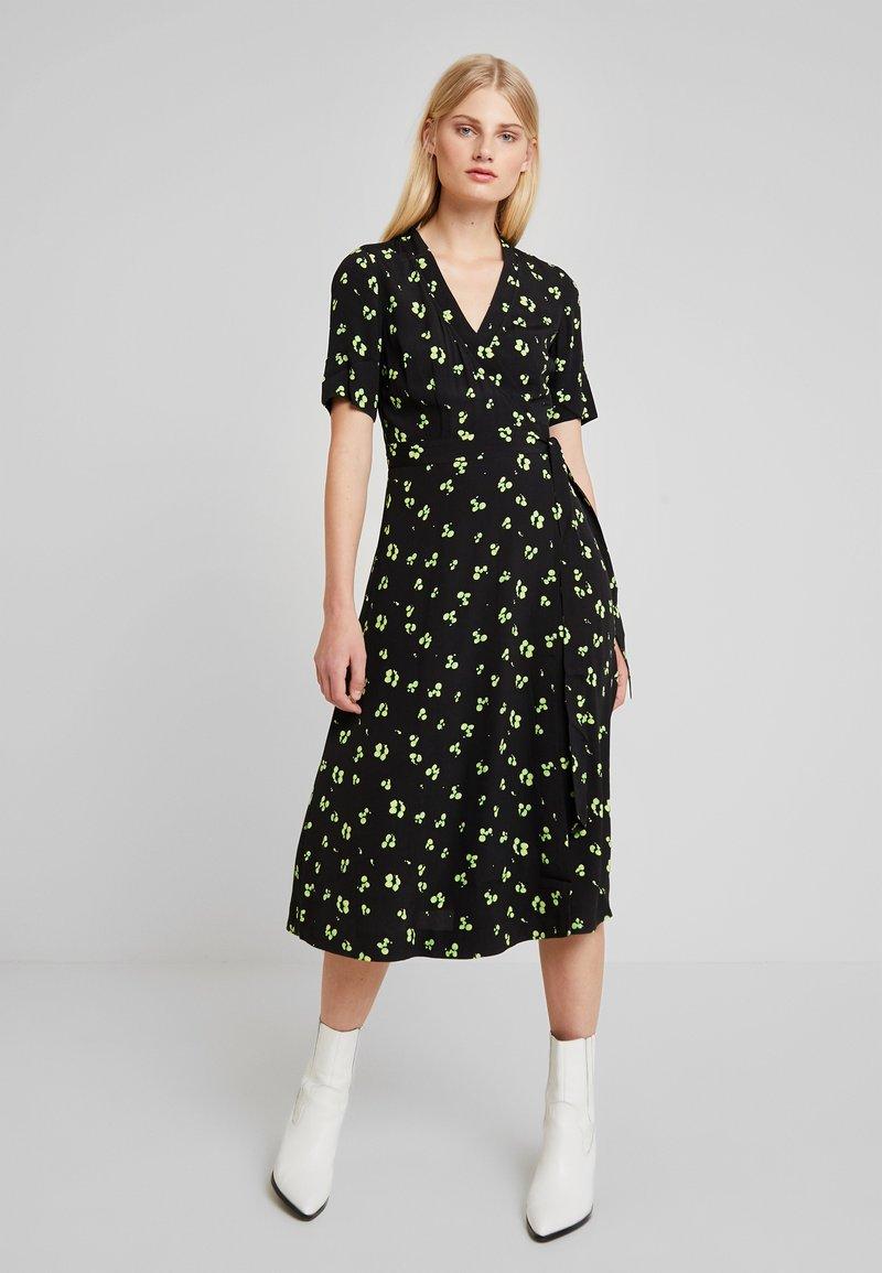 KIOMI - Maxi dress - green/black