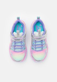 Skechers - HEART LIGHTS - Trainers - silver/multicolor - 3