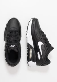 Nike Sportswear - AIR MAX 90 UNISEX - Baskets basses - black/white - 0