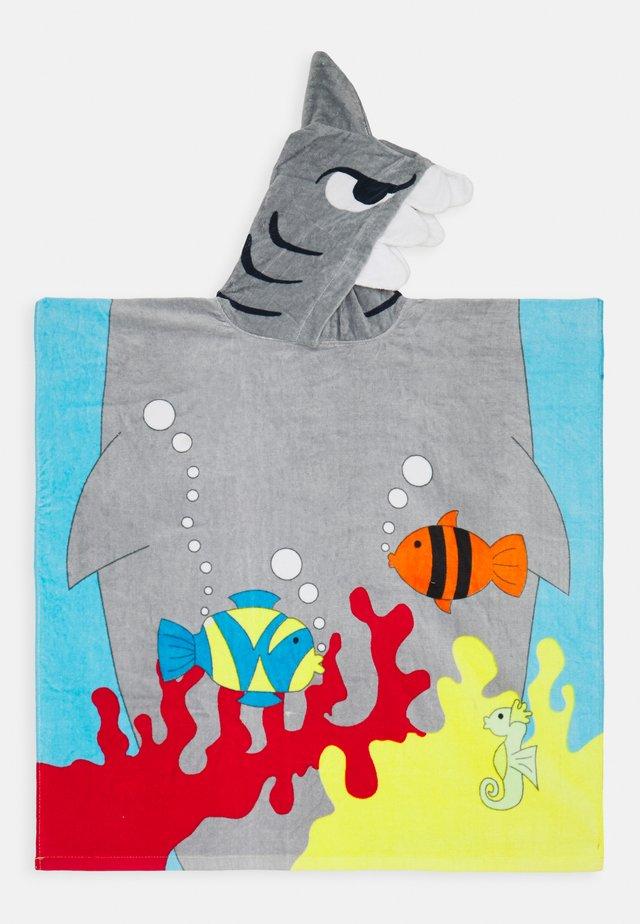 SHARK HOODED TOWEL - Handtuch - grey