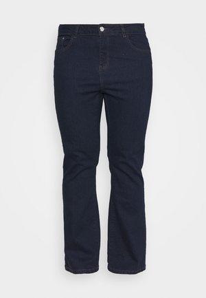 REGULAR BOOTCUT - Bootcut jeans - indigo