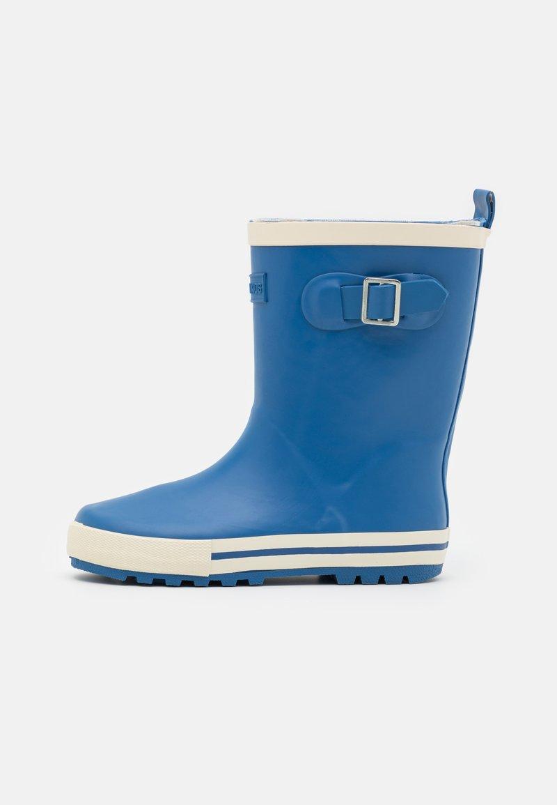 Cotton On - FASHION GOLLY UNISEX - Regenlaarzen - retro blue/ecru