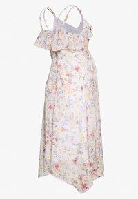 Hope & Ivy Maternity - MIDI BARDOT DRESS - Denní šaty - cream - 1