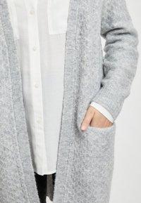 Vila - Kardigan - light grey melange - 3