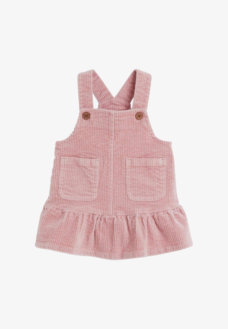 Next - FRILL - Korte jurk - pink